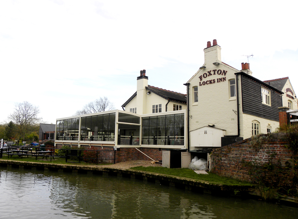 Foxton Locks Restaurant Menu